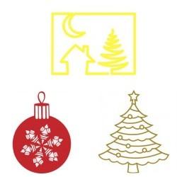 Naklejki świąteczne